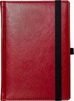 kalendarze nebraska z gumką Czerwony